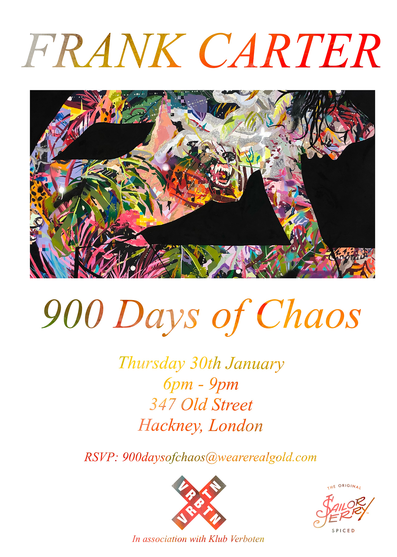 RGCOLLAB0019 // 900 Days of Chaos