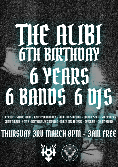 RGEVENT0033 // The Alibi 6th Birthday