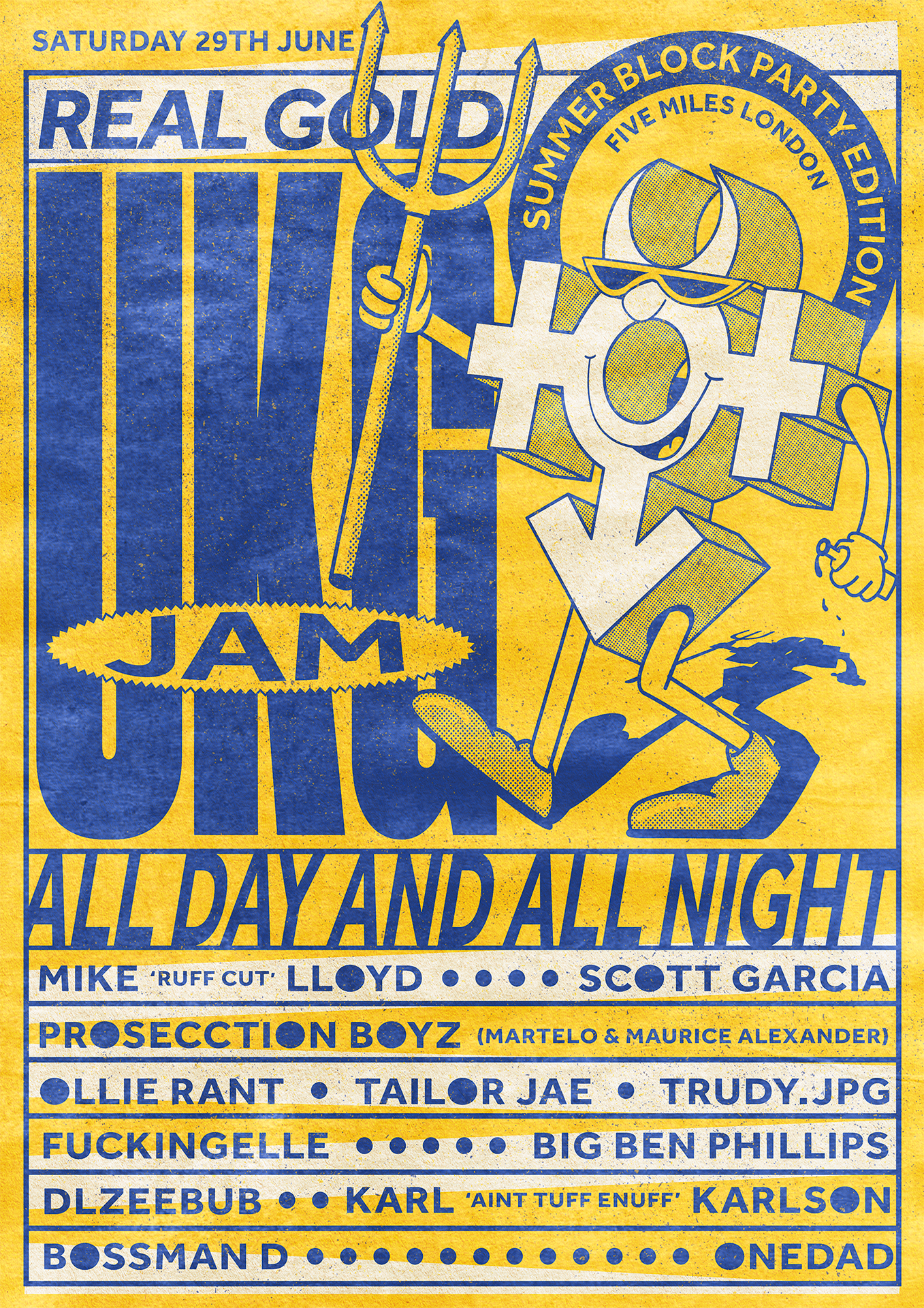 RGEVENT0046 // REAL GOLD UK Garage Jam - Summer Block Party
